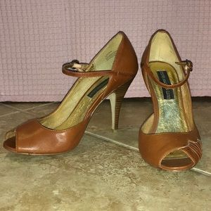 Steve Madden Luxe Tammy Cognac 8 Heels